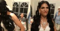 Nevesta bola za najkrajšiu ženu večera, až kým neotvorila ústa