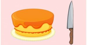 Ako rozdeliť tortu na 8 kúskov len za pomoci troch rezov? Riešenie je pomerne jednoduché