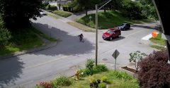 Cyklista si myslel, že dopravné značky platia len pre autá. Trpko to oľutoval
