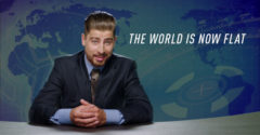 Peter Sagan zahviezdil v novej reklame. Tvrdí v nej, že Zem je plochá