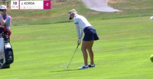 Golfistka Jessica Kordová na svojom poslednom turnaji nezaprela české korene