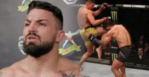 Mike Perry utrpel jednu z najhorších zlomenín nosa v histórii UFC