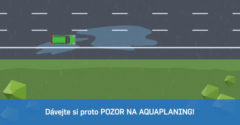 Ako vzniká aquaplaning a čo robiť keď už ho dostanete (Bezpečné cesty)