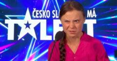 Greta Thunberg v Česko Slovensko má talent rozčarila porotcov