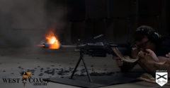 Ako sa až roztopí guľomet, keď sa z neho nepretržite vystrelí 700 striel