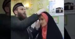 Moslimská nevesta si svoju svadbu očividne veľmi užila