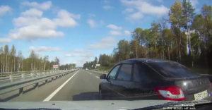 Nehoda pri 170 km/h na ruský spôsob (Lada vs. Lada)