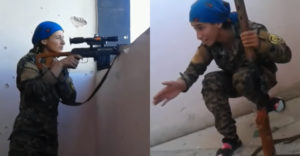 Od smrti ju delili centimetre. Kurdskej ostreľovačke zasvišťala guľka okolo ucha