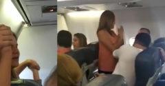 Keď sa lietadlu pokazil motor, každý cestujúci sa s tým vyrovnával svojou metódou