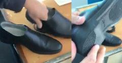 Ruskí policajti predvádzajú kvalitu svojich nových topánok (Náramne sa bavia)