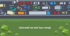 Tvoríš v kolónach záchranársku uličku? Video ukazuje časté chyby a ako to robiť správne (Bezpečné cesty)