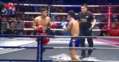 Thajský boxer vyhral zápas po dvojitom knockoute. Poslal k zemi súpera, aj rozhodcu