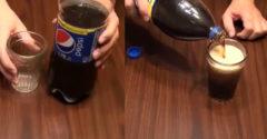 Ako do pohára naliať kolu bez peny? Stačí sa držať jednoduchých krokov