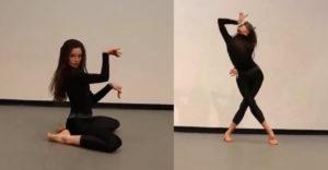 Mačacia žena predviedla úžasný tanec. Dokonale ovláda každú časť svojho tela