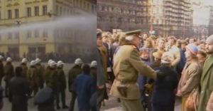 Protesty v ČSSR sa organizovali aj pred Novembrom 1989. Takto o nich dezinformovala totalitná televízia