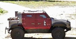 Zetor vyrobil obrnenú beštiu, ktorá zvládla výbuch ôsmich kilogramov TNT. Vozidlo nesie názov Gerlach