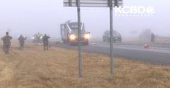 Z hmly na nich vyletel nekontrolovateľný kamión