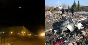 Video má dokazovať, že padnutý ukrajinský Boeing 737 zostrelila iránska raketa