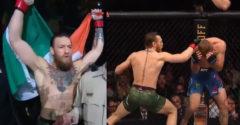 Conor McGregor sa vrátil do UFC v devastačnom štýle. Cowboya zničil v prvom kole