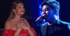 Filipínec ukázal obrovský talent. Zaspieval oba hlasy duetu Bocelliho s Celine Dion (The Prayer)