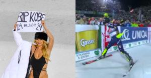 Polonahá Kinsey Wolanski behala v Rakúsku po svahu počas svetového pohára (Opäť to prehnala)