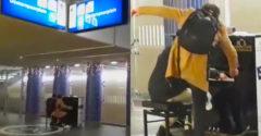 Opití študenti to o 7 ráno rozbalili na vlakovej stanici. Nikto nečakal, že niečo takéto dokážu (Ani oni sami)