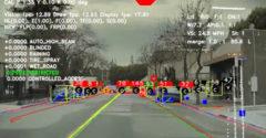 Čo v skutočnosti vidí autopilot Tesly pri jazde (Neustále prepočty)