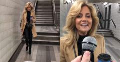 Zober si mikrofón a pokračuj v piesni! Okoloidúca žena v metre poriadne prekvapila