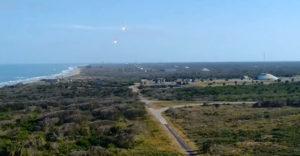 Ako znie zvuk pristávajúcich rakiet Space X? Narobia slušný rámus