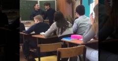 Ruský učiteľ si pomýlil triedu s ringom. Žiak po jeho útoku skončil na zemi