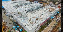 Pozrite si interiér čínskej nemocnice postavenej za 10 dní
