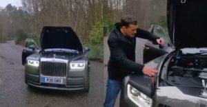Ako hladko beží motor auta Rolls Royce Phantom? (Stačí na to jedna minca)