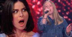 Hlas mladej 14 ročnej speváčky prekvapil porotcov. Jej vystúpenie sledovali s otvorenými ústami