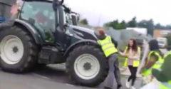 Nehádaj sa s farmárom, ktorého nepoznáš (Vegánsky protest)