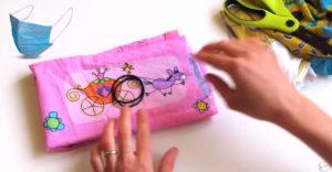Ako si doma vyrobiť ochranné rúško bez šitia (Jednoduchý návod)