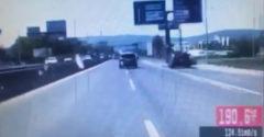 Vodič unikal policajtom rýchlosťou 190 km/h, kľučkoval medzi autá aj stromy (Bratislava)