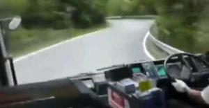 Keď si mal byť rally jazdec, ale zobrali ťa len za autobusára (Panika cestujúcich)