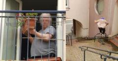 Mne sa tu pod oknami premávať nebudeš! Babka trafila skateboardistu kvetináčom do hlavy