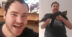 Vo videu sa vyhrážal Matovičovi smrťou. Zadržala ho NAKA (Vulgarizmy)
