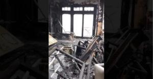 Rozdiel medzi zatvorenými a otvorenými dverami počas požiaru