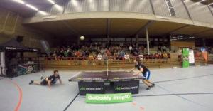 Najveľkolepšejšia výmena v headis (Hlavičkový ping pong)