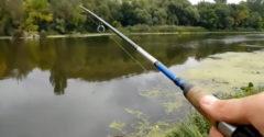 Keď si myslíš, že si našiel pokojné miesto na rybačku (Ukrajina)