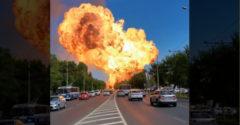Hrozivé zábery z Ruska: Explodovala tam čerpacia stanica