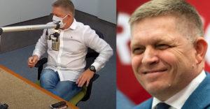 Róbert Fico vyložil na stôl v rádiu telefón za približne 15 000 eur. Bežný Slovák by naň pracoval 2 roky