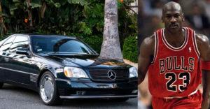 Za koľko sa vydražil starý Mercedes Michaela Jordana? Vyvolávacia cena bola 23 dolárov
