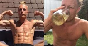 Muž prezradil, z akého dôvodu pije vlastný moč. Niekedy zvládne až 7 pohárov denne