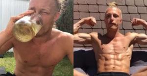 26 ročný muž prezradil, prečo každý deň vypije 3 až 7 pohárov moču. Časť z toho prijíma cez oči, nos a uši