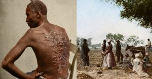 Kolorizované fotografie ako dôkaz, že otroctvo v Amerike bolo naozaj krutým obdobím