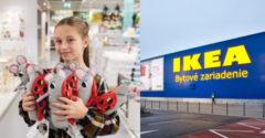 Ikea začala vyrábať hračku podľa návrhu malej Trnavčanky Majky. Predávať sa bude po celom svete