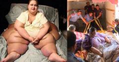 V roku 2008 ju muselo z bytu vyniesť 10 mužov. Dnes má o 350 kg menej